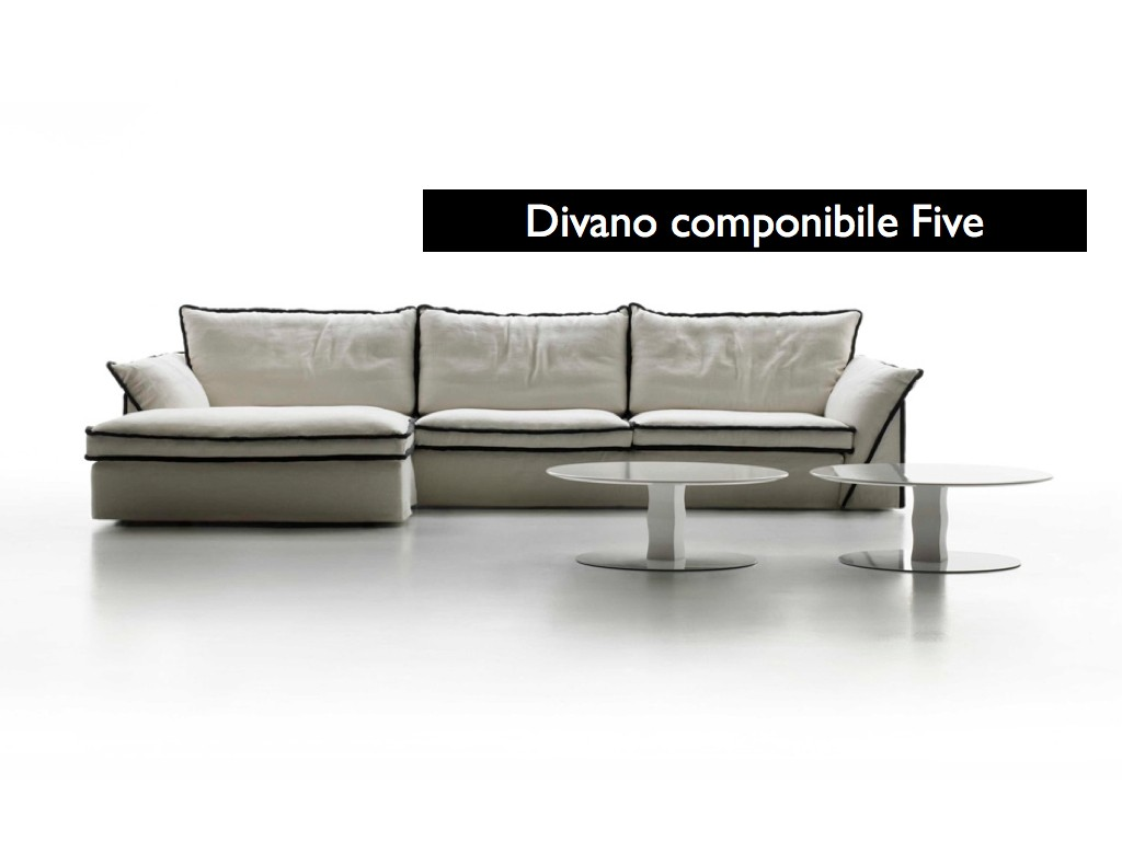 Nuovi divani in pelle one e five disponibili in negozio e for Divani nuovi