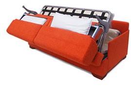 Un divano letto compatto island di tino mariani divani for Divani larghezza 150 cm