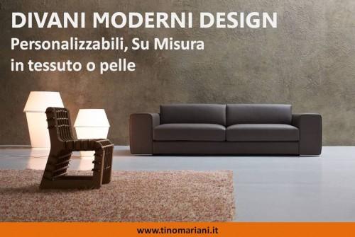 Divani moderni e di design divani letto e poltrone relax tino mariani lissone milano - Divani moderni in pelle design ...